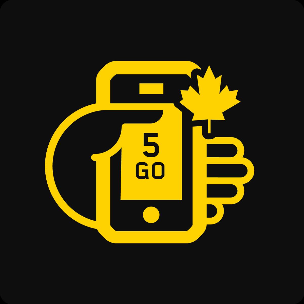 Forfait Mobile Apportez Votre Appareil Canada 5Go