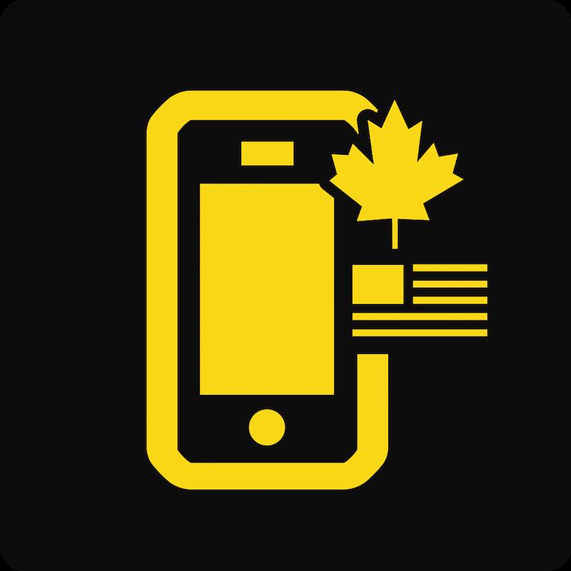 Forfaits Canada et États-Unis avec Téléphone 3Go à 6Go