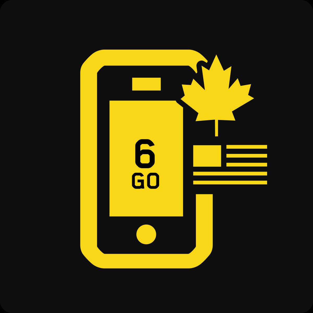Forfait Mobile Affaires Canada et États-Unis 6Go