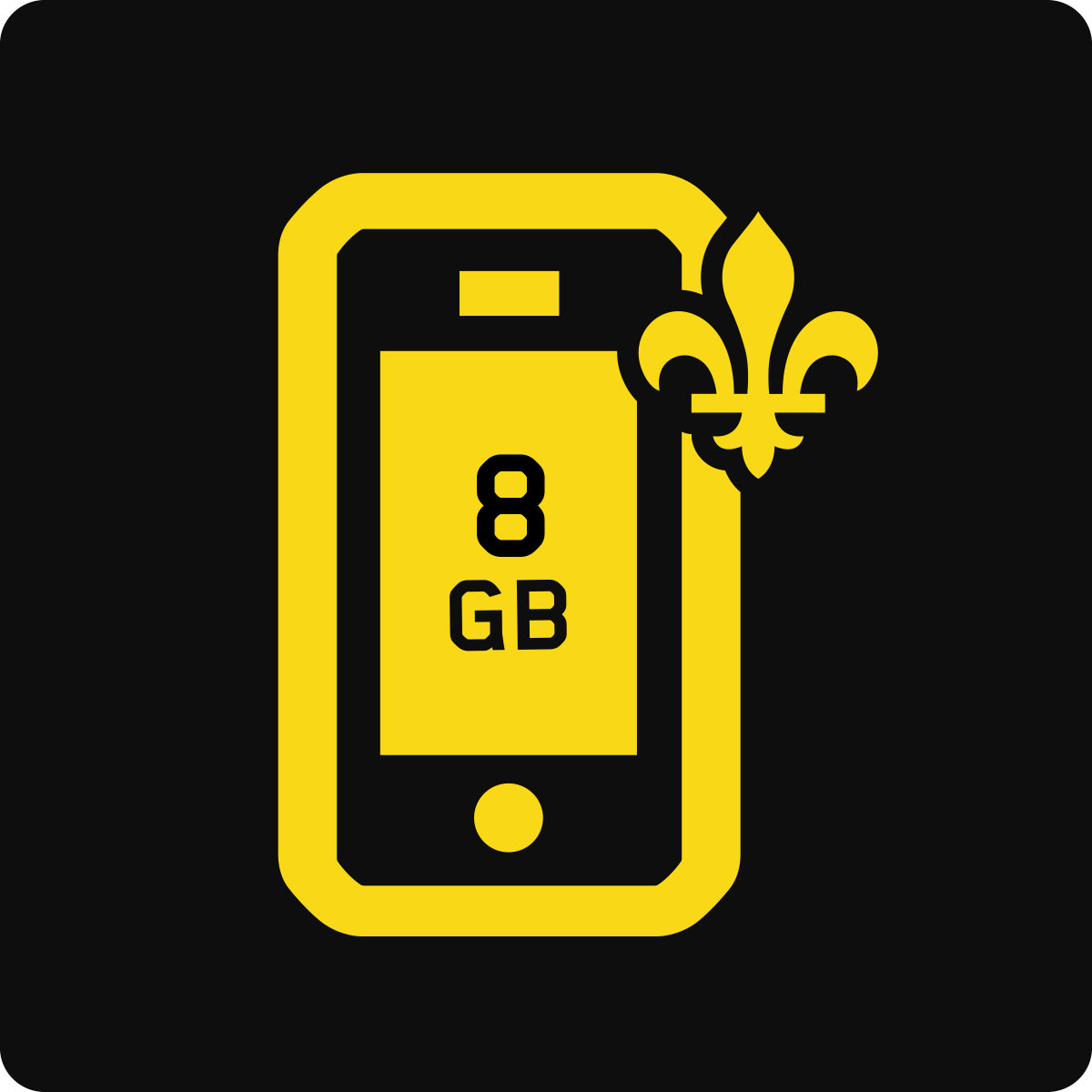 Quebec 8 GB Business Mobile plan