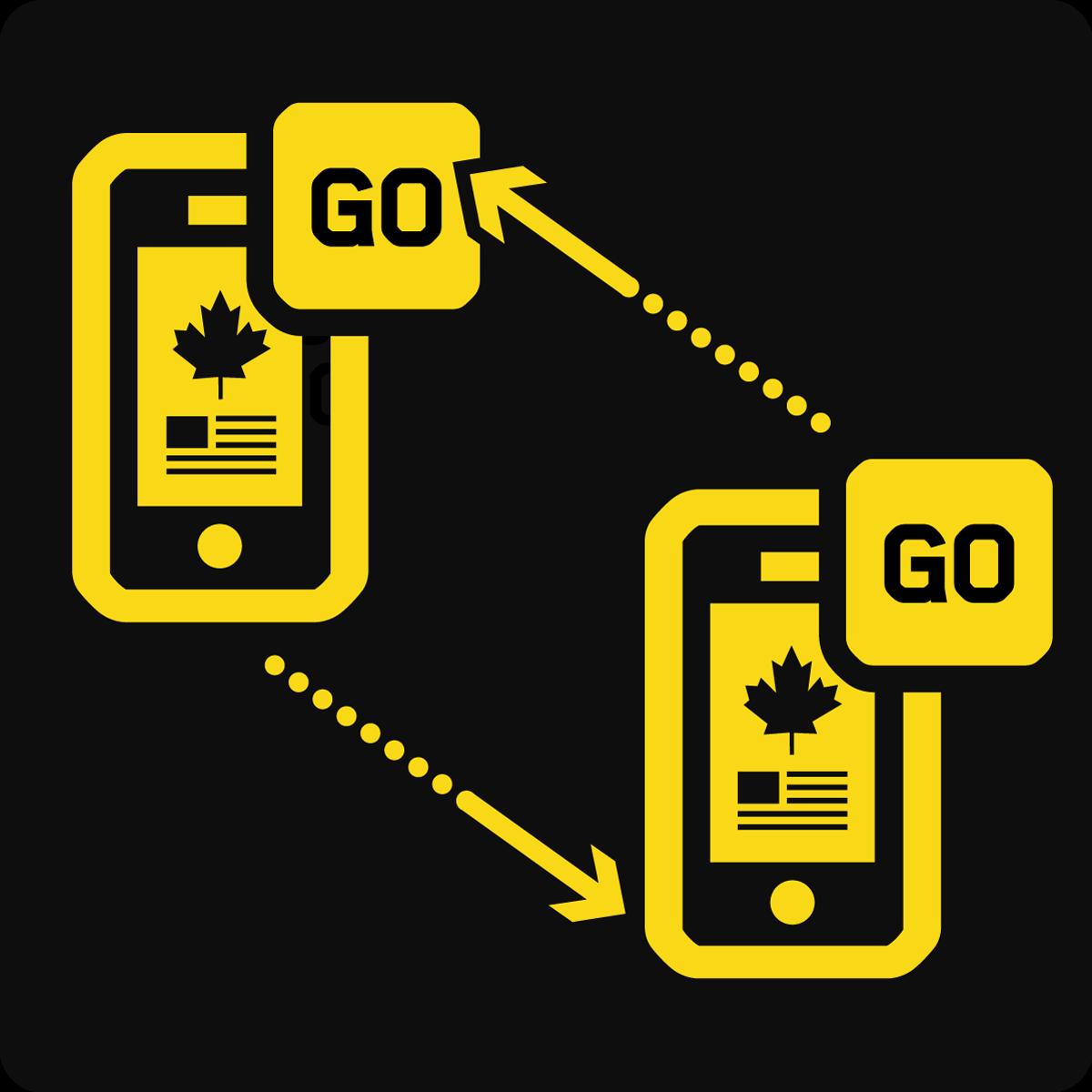 Partage de données mobile Canada et États-Unis