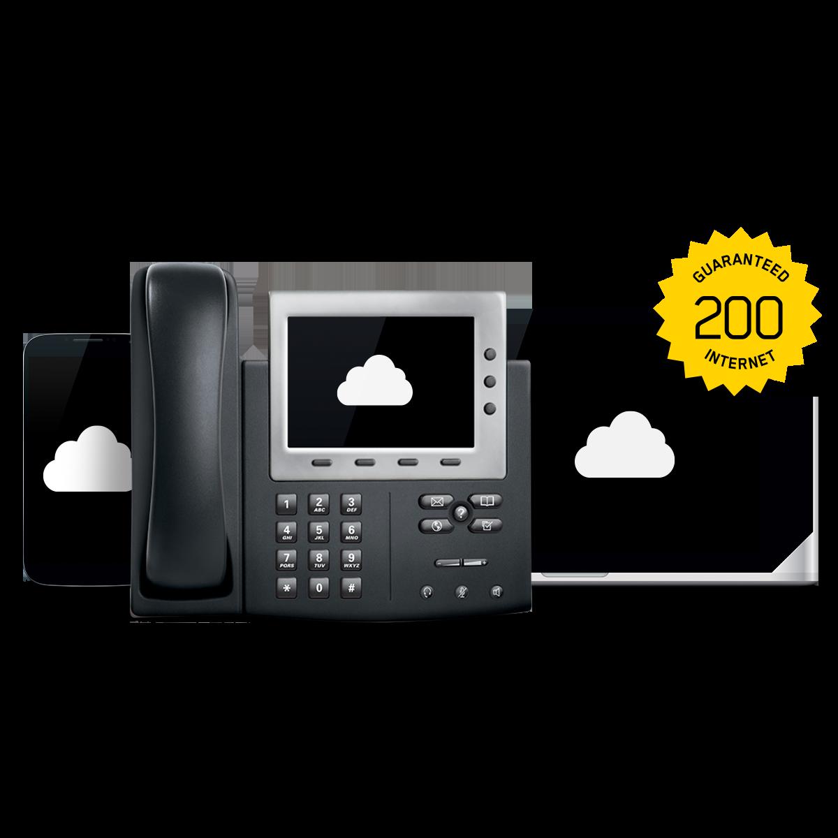 GUARANTEED 200 INTERNET + CLOUD COMMUNICATIONS