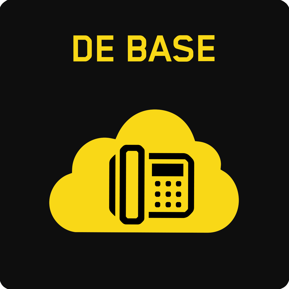 Communications en nuage de base