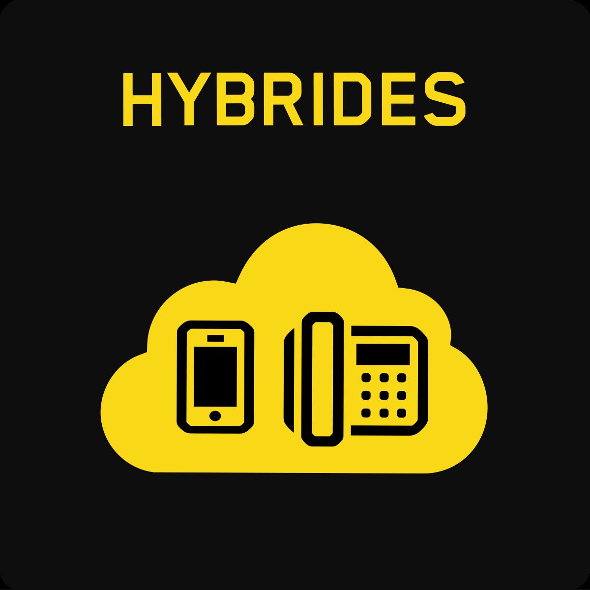 Communications en nuage hybrides
