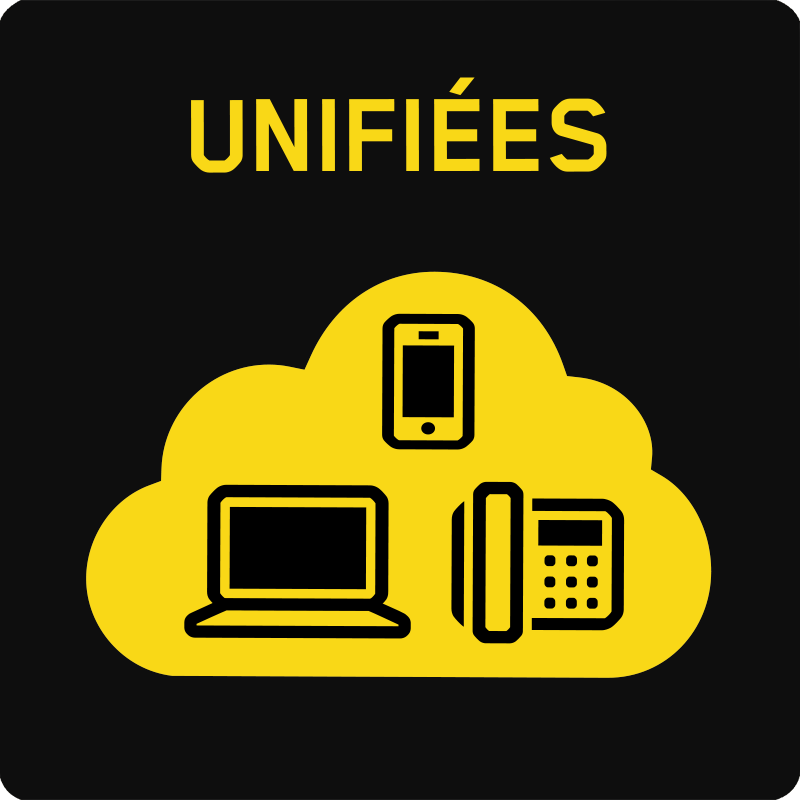 Communications en nuage unifiees - Moyenne