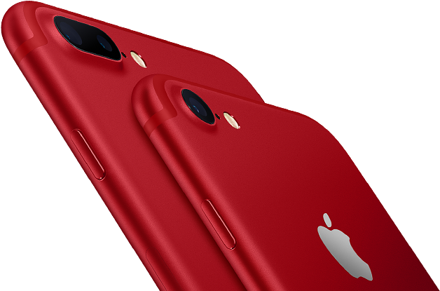 iPhone 7 - Special Red Edition visuel