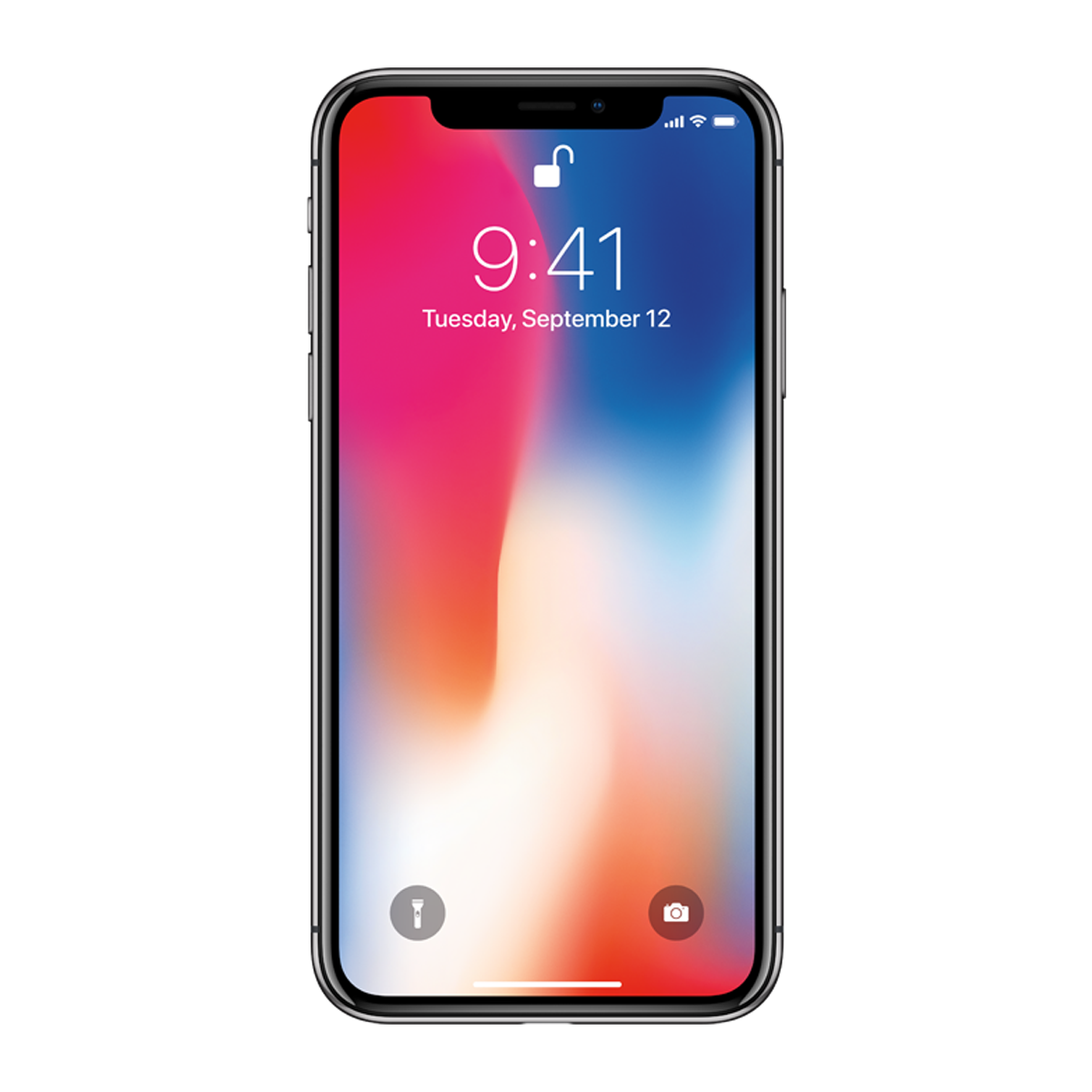 Iphone x actual size PNG Picture.