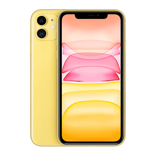 iPhone 11 - Yellow - 640