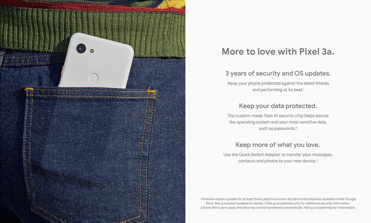 Google Pixel 3a XL | Mobile | Videotron Business Solutions
