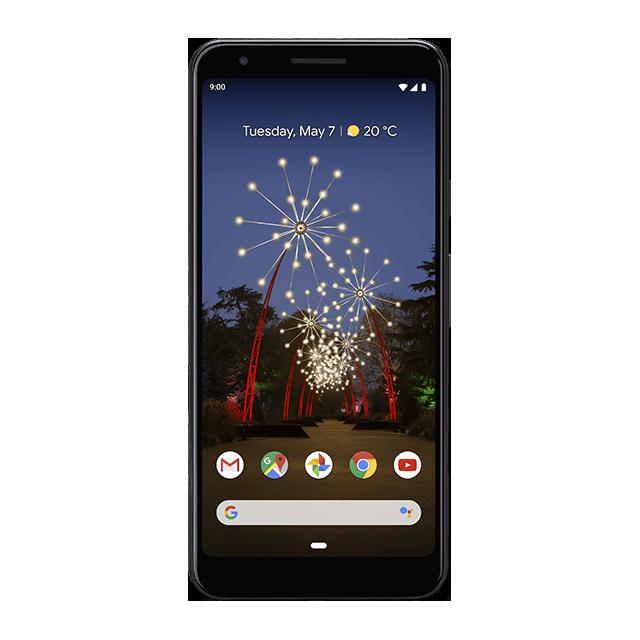 Google Pixel 3a - Just Black - 640