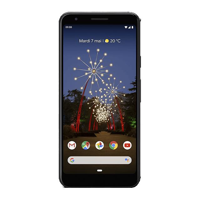 Google Pixel 3a - Juste Noir - 640