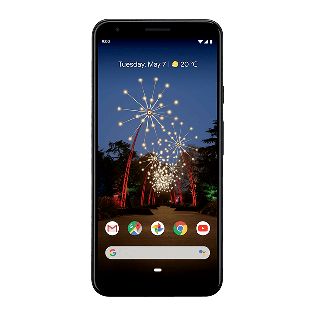Google Pixel 3a XL - Just Black - 640
