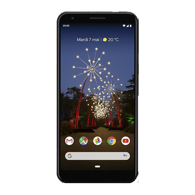 Google Pixel 3a XL - Juste Noir - 640