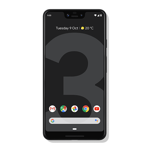 Google Pixel 3 XL - Just Black - 640