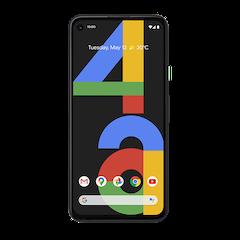 Google Pixel 4a - Just Black - 640