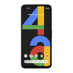 Google Pixel 4a - Juste Noir - 640