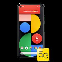 Google Pixel 5 - Just Black - 640