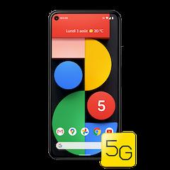 Google Pixel 5 - Juste Noir - 640