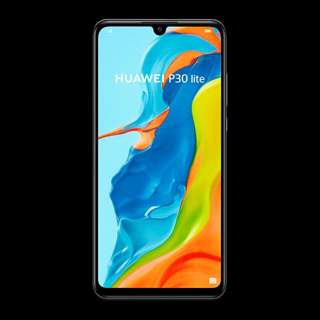 Huawei P30 Lite - Midnight Black - 640