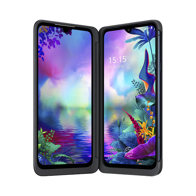 LG G8X ThinQ Dual Screen - Noir Aurore - 640