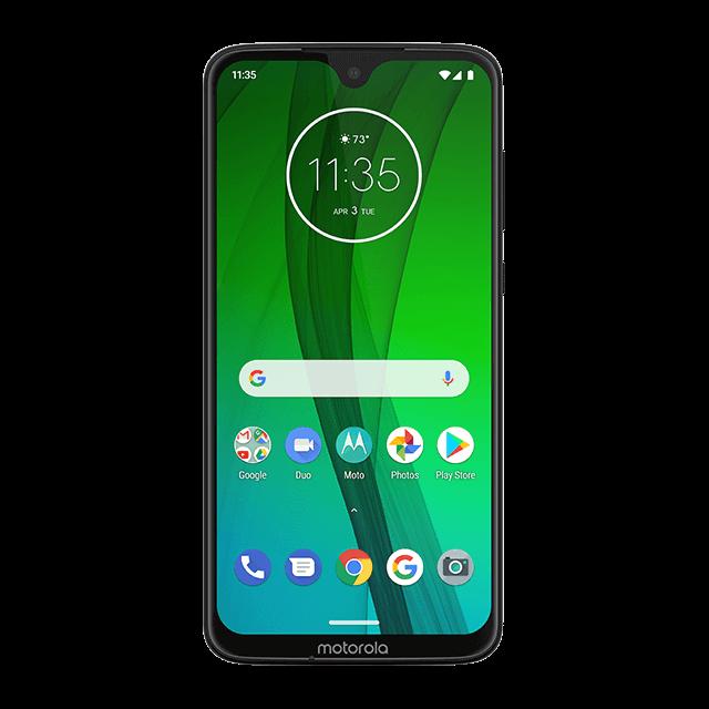 Motorola Moto G7 - Noir - 640