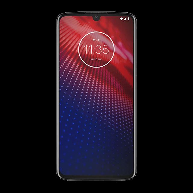 Motorola Moto Z4 - Gris Eclatant - 640