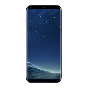 Samsung Mobile Phone – Samsung Galaxy S8 Plus Black - Front